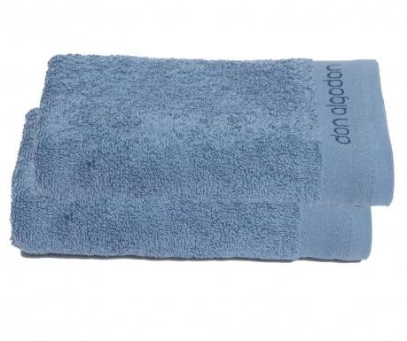 Комплект 2 кърпи за баня Tocador Blue Marine 30x50 см