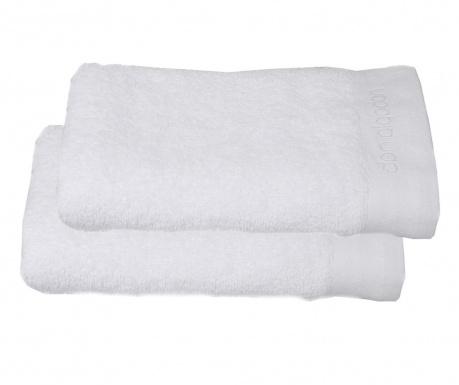 Sada 2 uterákov Lavabo White 50x100 cm