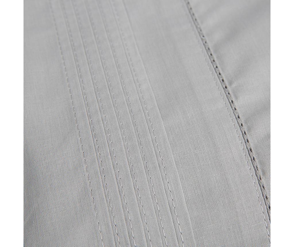 Lenjerie de pat Single Pique Vainica Grey