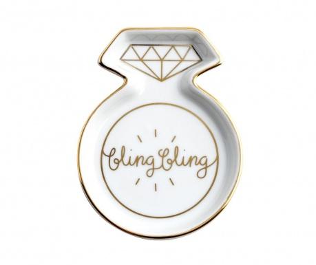 Patera dekoracyjna Bling Bling
