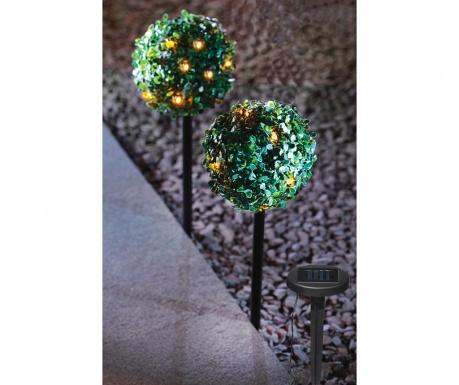 Set 2 vrtnih svetlobnih dekoracij Solar