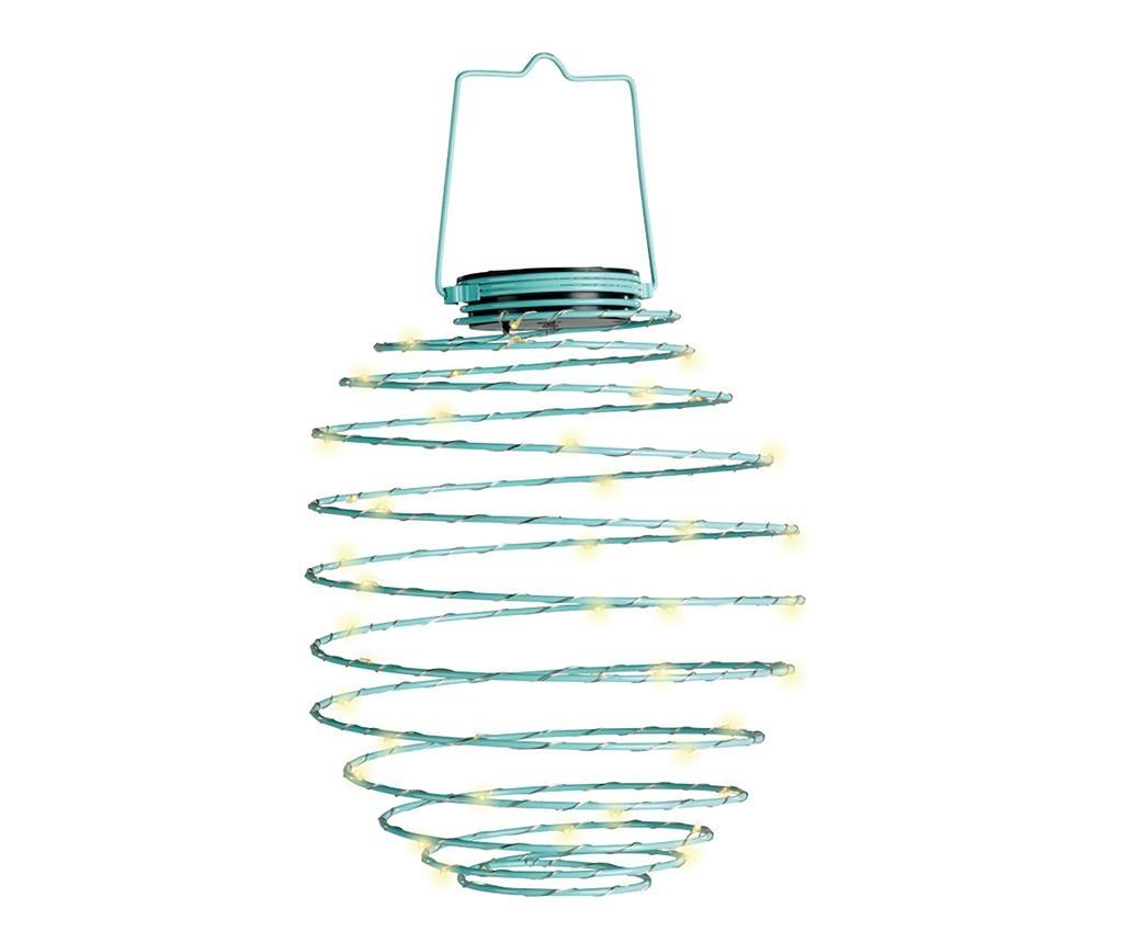 Spiral Blue Napelemes lámpa