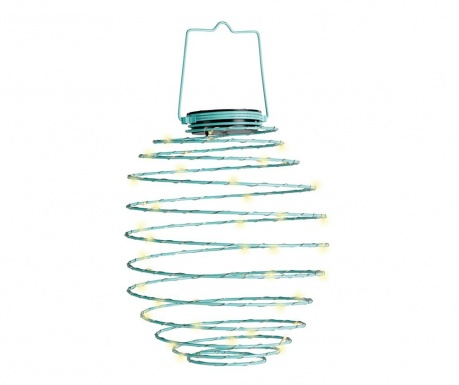 Lampa solarna Spiral Blue