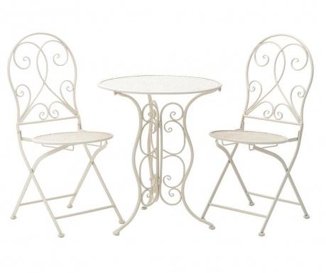 Set masa si 2 scaune Vintage