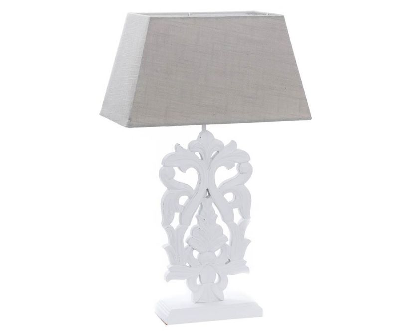 Lampa Sharp Flower White