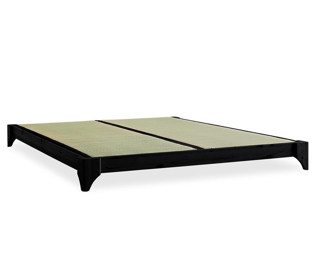 Krevet Elan Black 160x200 cm