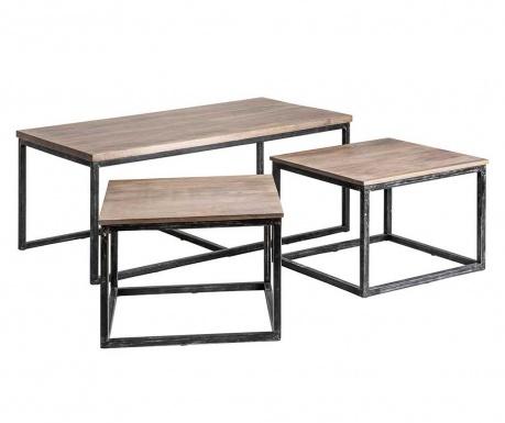 Set 3 klubskih mizic Huy