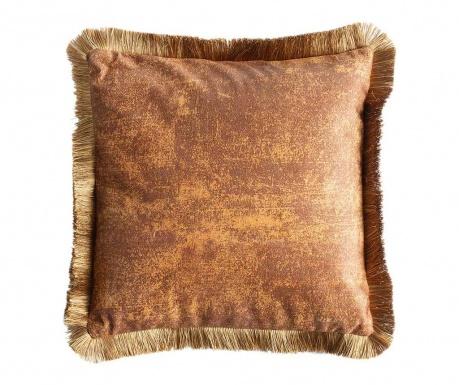 Dekorační polštář Alcina Brown Gold 45x45 cm
