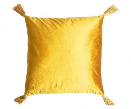 Dekorační polštář Airlia Mustard 45x45 cm