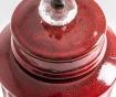 Vas decorativ cu capac Aeneas Large Red