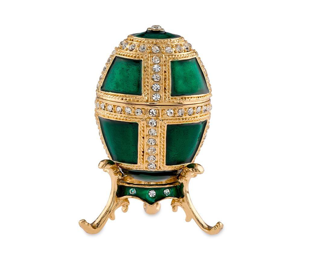 Cutie decorativa Armour Green