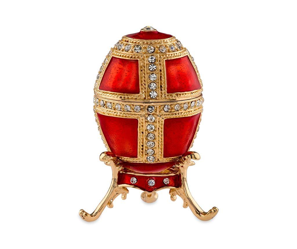 Cutie decorativa Armour Red