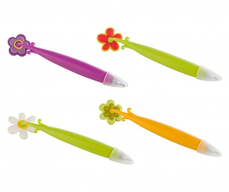 Комплект 4 химикала с магнит Flowers