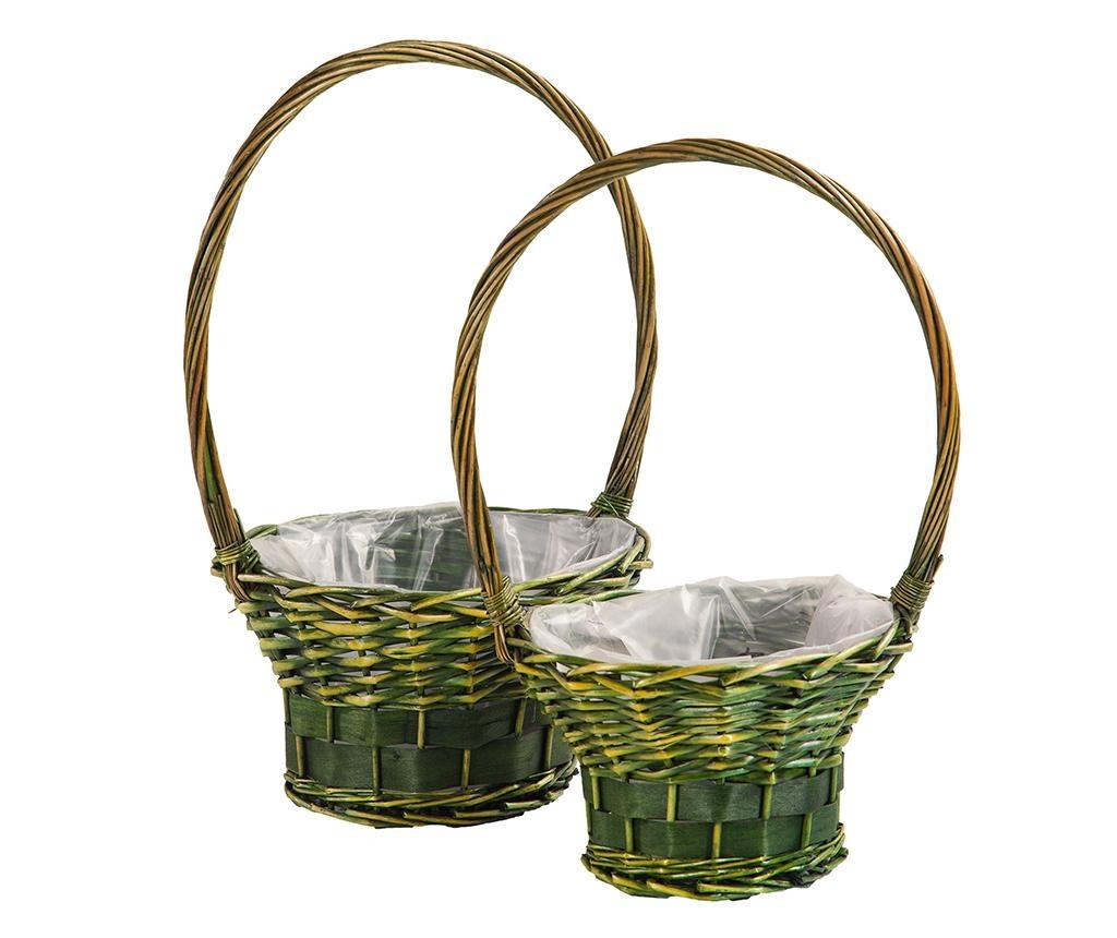 Sada 2 květináčů Nature Baskets