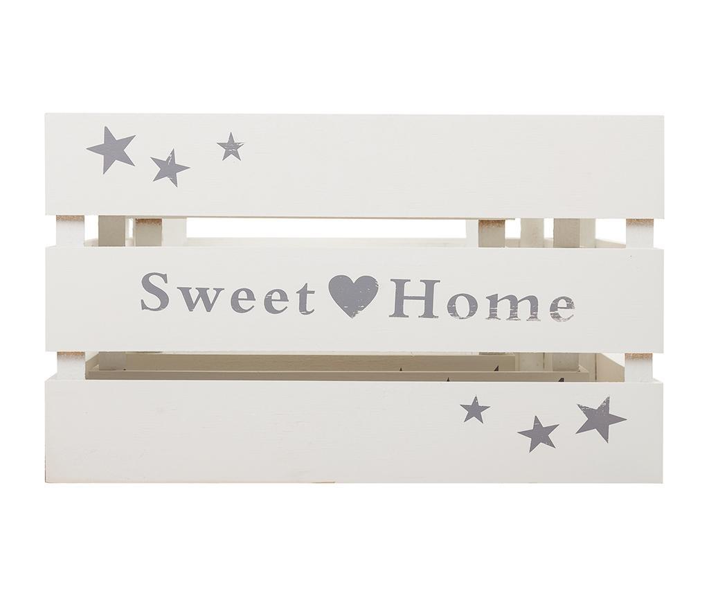 Sweet Home White 3 db Tárolóláda