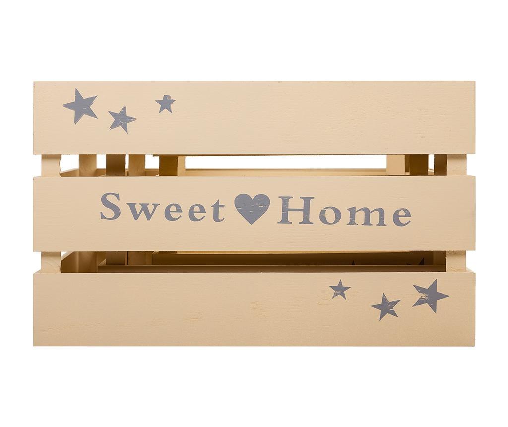 Set 3 lazi pentru depozitare Sweet Home Cream