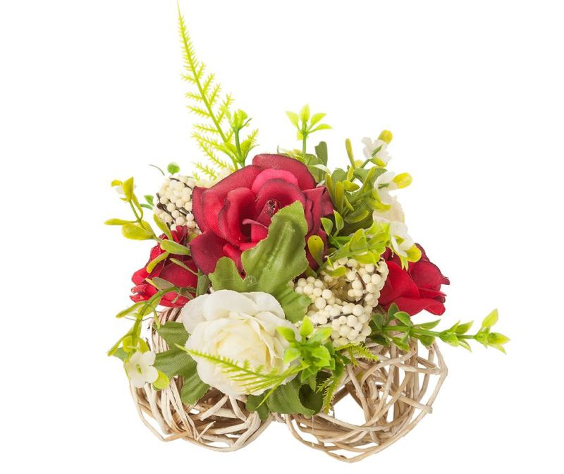 Ukras Roses White Red