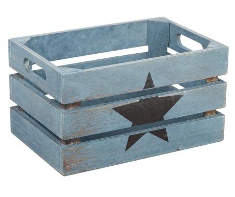 Shranjevalni zaboj Star Black Blue
