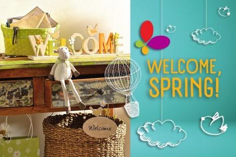 Welcome, Spring: Atmosfera de Paste