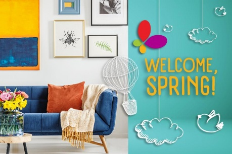 Welcome, Spring: Decor de primavara