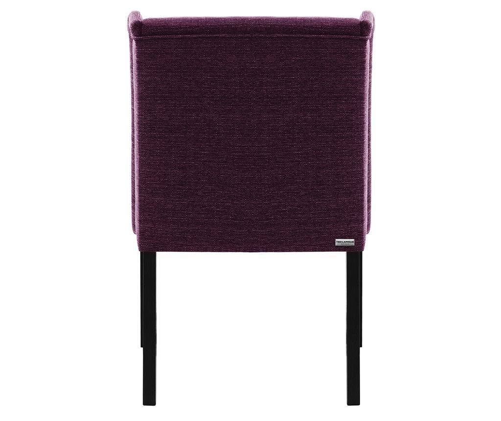 Комплект 2 стола Zeste Black & Violet