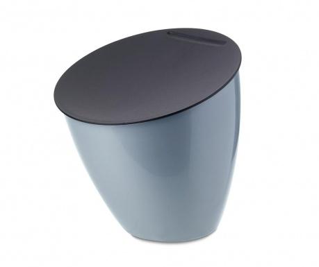 Cos de gunoi cu capac Calypso Grey 2.2 L