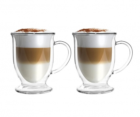 Set 2 cesti Cappuccino 250 ml