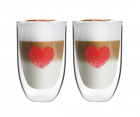 Cappuccino 2 db Pohár 350 ml