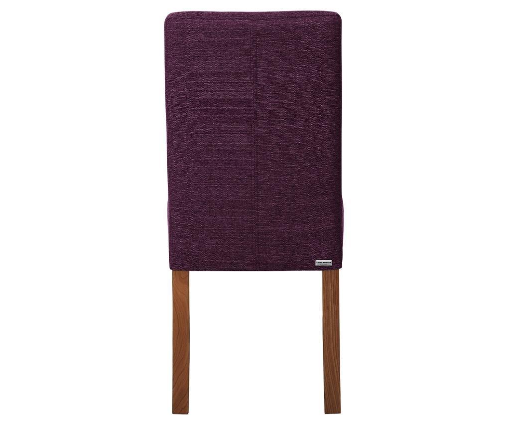 Set 4 scaune Tonka Brown & Violet