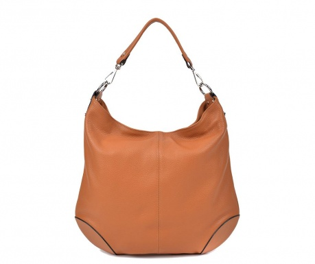 Τσάντα Denisa Cognac