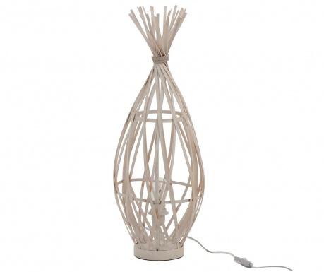 Lampka Ibiza Bamboo White