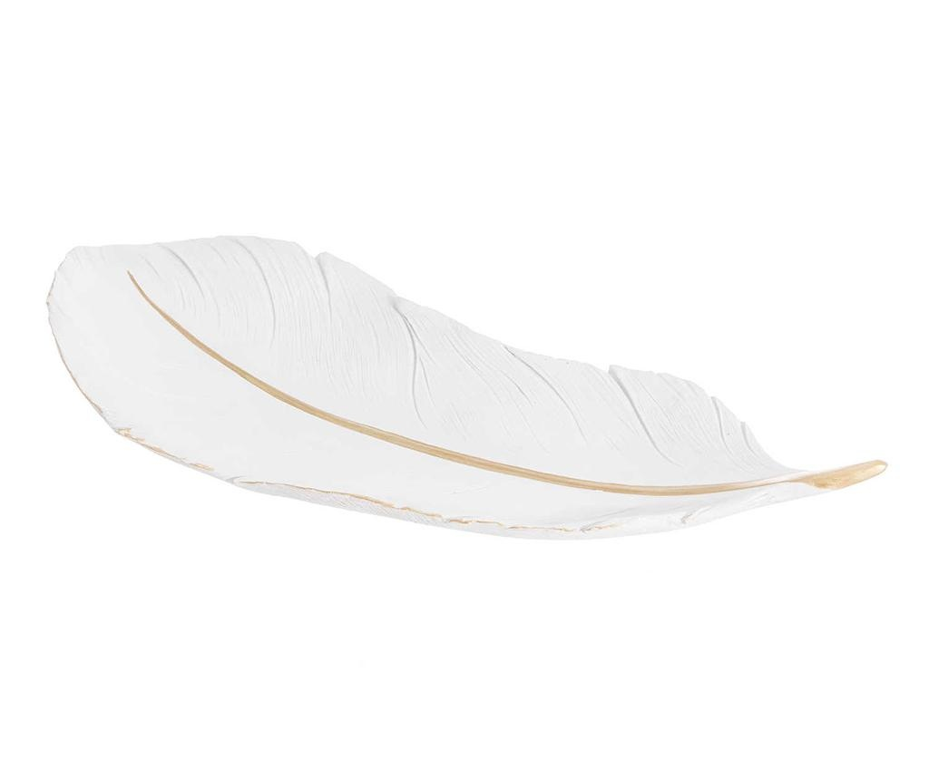 Feather Line Dísztál