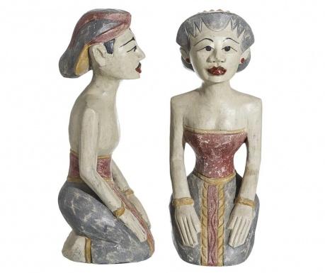 Комплект 2 декорации Indian Couple