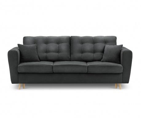 Canapea extensibila 3 locuri Highlife Dark Grey