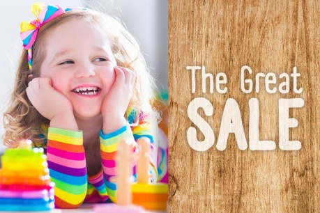 The Great Sale: Lumea copiilor