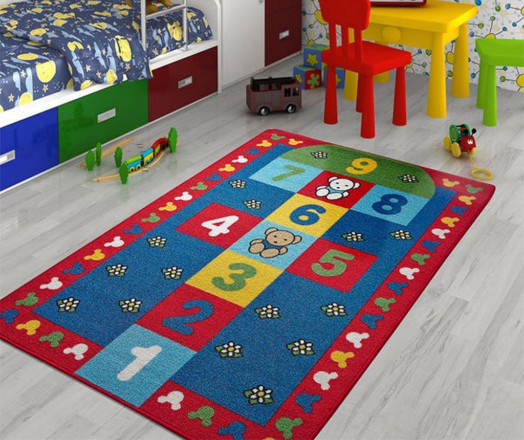 Hopscotch Teddy Bear Játszószőnyeg 100x150 cm