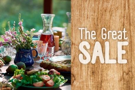 The Great Sale: Pregatirea si servirea mesei
