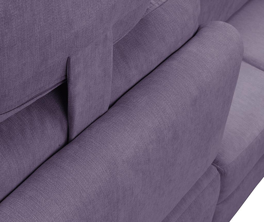 Alpha Lavender Baloldali  kihúzható sarokkanapé