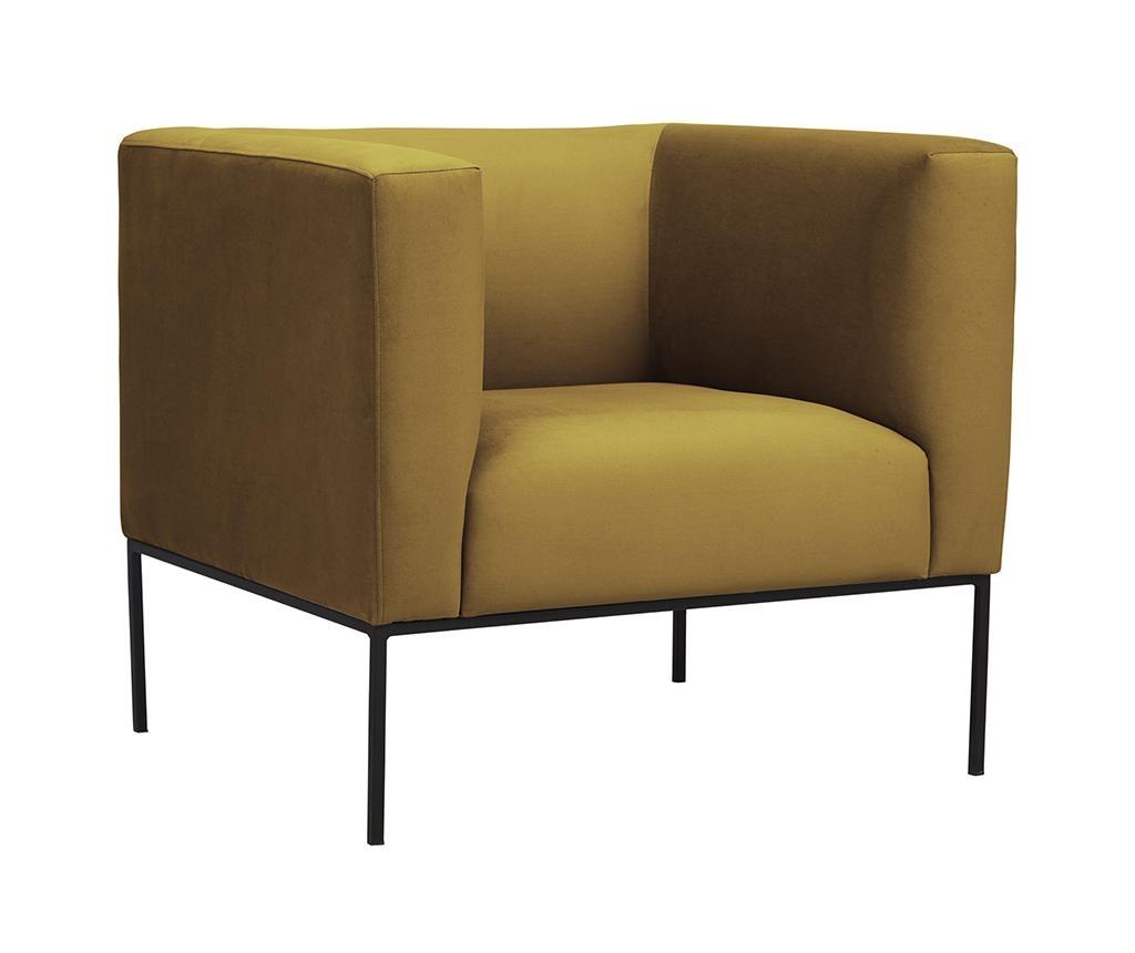 Fotelja Neptune Yellow