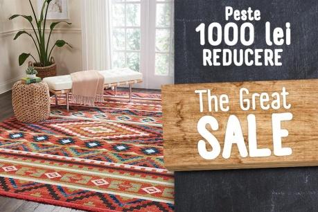 The Great Sale: Reduceri de minimum 1000 Lei
