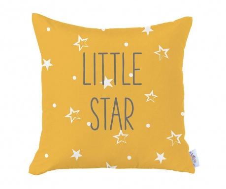 Fata de perna Little Star Yellow 35x35 cm