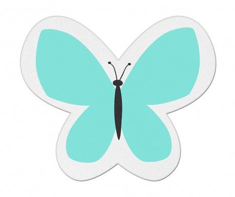 Perna decorativa Butterfly Dream Turquoise 26x30 cm