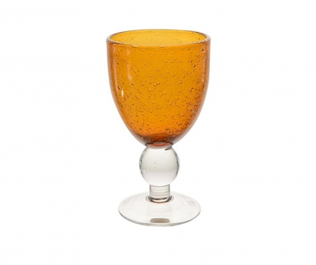 Pahar cu picior Erick Orange 240 ml