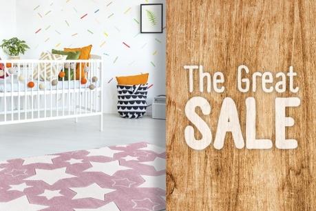 The Great Sale: Covoare pentru copii