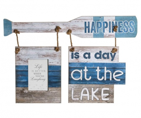 Decoratiune de perete Day At The Lake