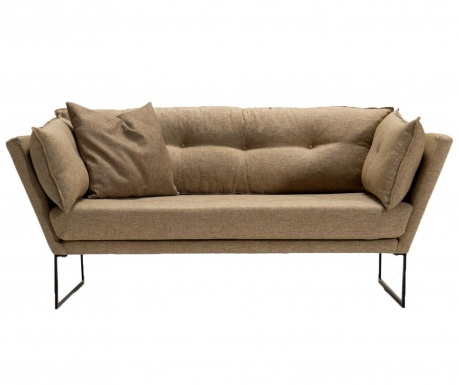 Canapea 2 locuri Relax Dark Brown