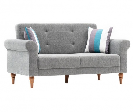 Canapea 2 locuri Madona Grey