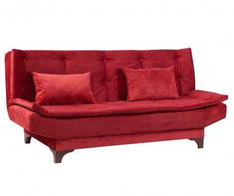 Canapea extensibila 3 locuri Clara Red