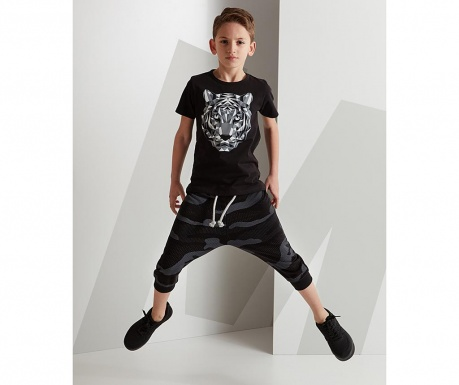Set tricou si pantaloni   copii Soldier Tiger Baggy 6 ani