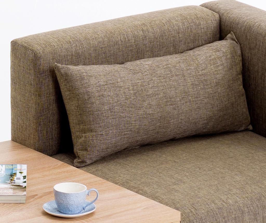 Canapea modulara 2 locuri Plus Brown